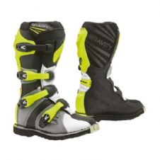 New 2020 Youth Forma Gravity Boots Motocross Enduro GREY/WHITE/FLO YELLOW